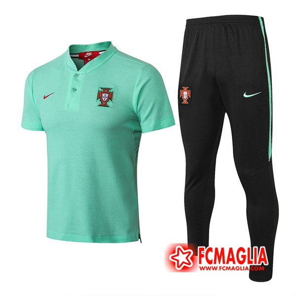 Polo Set Portogallo + Pantalon Verde 18/19