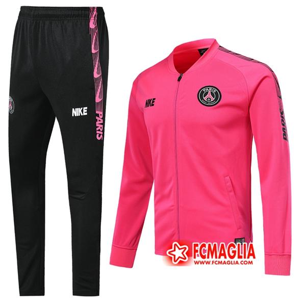 Nuovi Tuta Allenamento PSG Rosa 2019/20 - Giacca Pantaloni ...