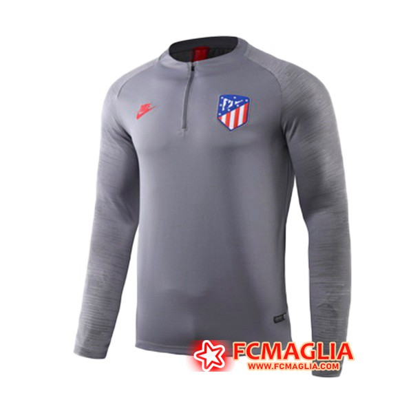 Felpa da training Atletico Madrid Grigio 19/20