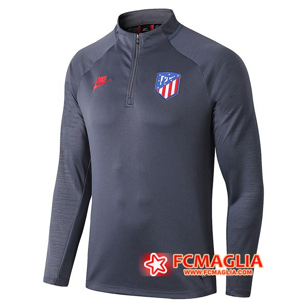 Felpa da training Atletico Madrid Grigio Scuro 19/20
