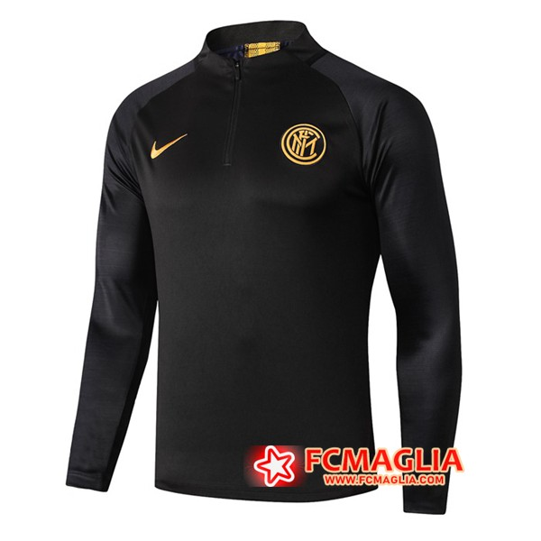 Felpa da training Inter Milan Nero 19/20