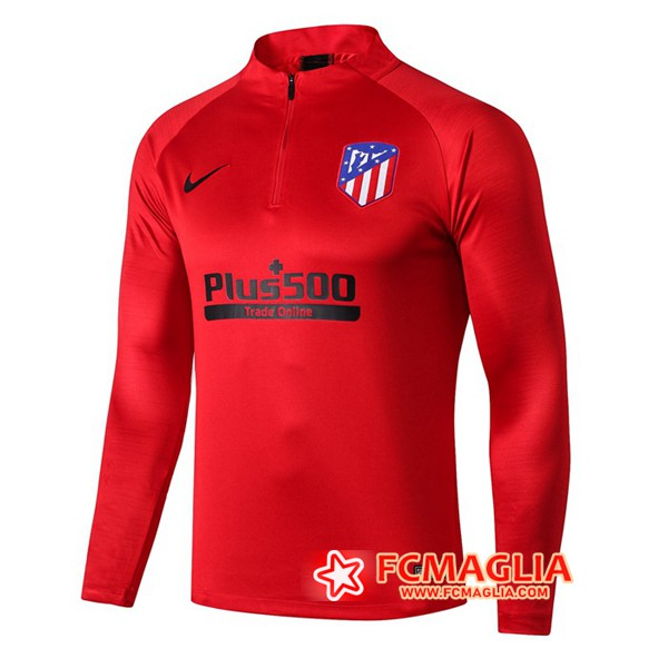 Felpa da training Atletico Madrid Rosso 19/20