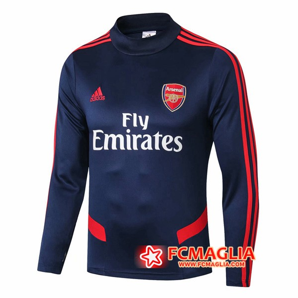 Felpa da training Arsenal Collo Alto Blu Scuro 19/20