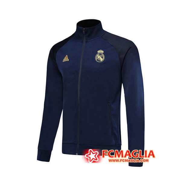 Giacca Calcio Real Madrid Blu Scuro 19/20