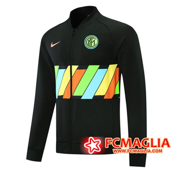 Giacca Calcio Inter Milan Nero 2021/2022 Originali