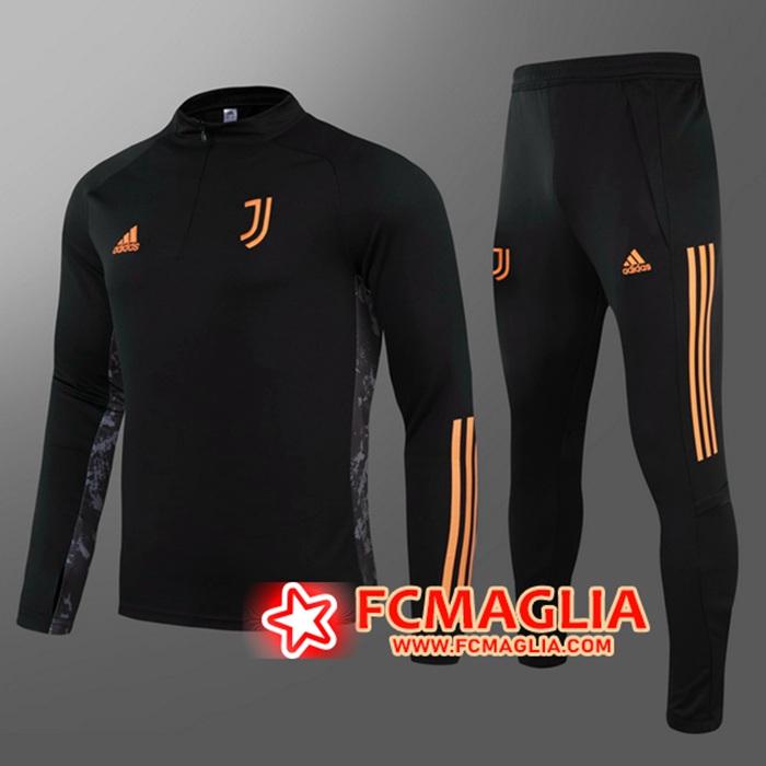 Crea La Tua T Shirt Allenamento Juventus Nero 2020/2021