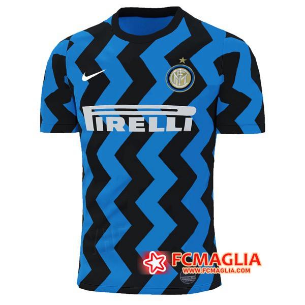 Maglia Calcio Inter Milan Prima Versione Trapelata 2020/21 ...