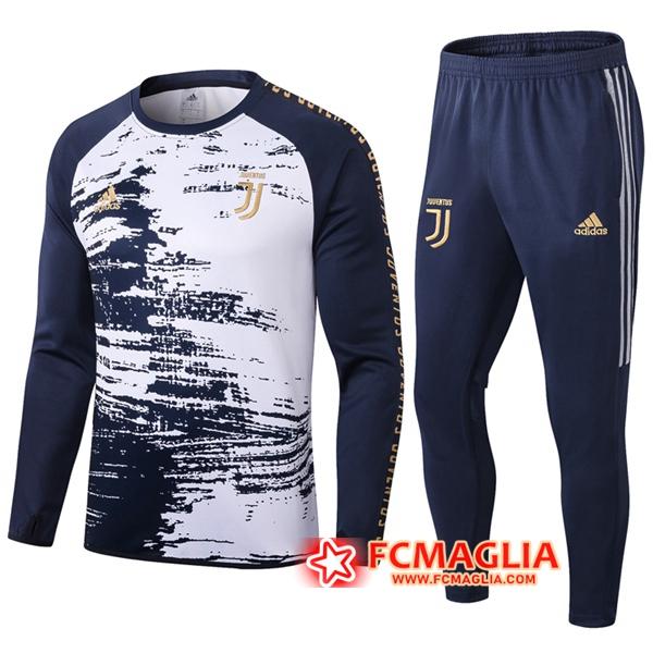 Tuta Allenamento Juventus Blu Royal Bianco 2020/2021 Pantaloni ...