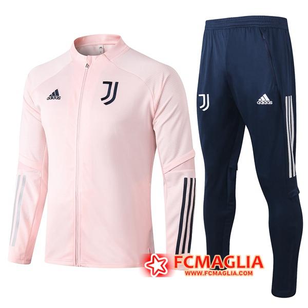 Tuta Allenamento Juventus Rosa 2020/2021 Giacca Pantaloni ...