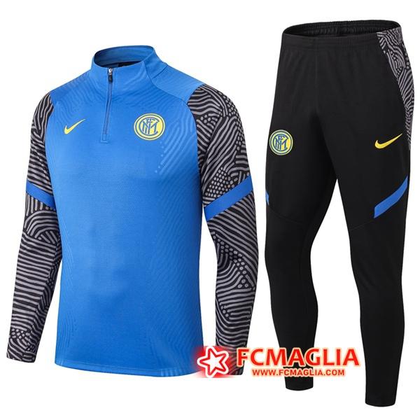 Tuta Allenamento Inter Milan Blu 2020/2021 Pantaloni   Venduto a ...