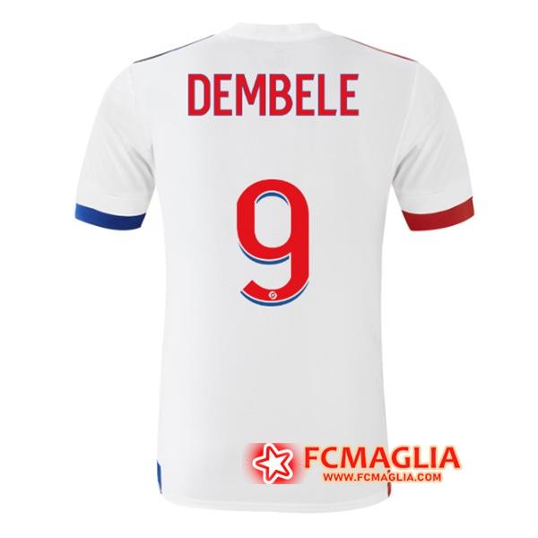 Maglia Calcio Lyon OL (DEMBELE 9) Prima 2020/21 | Venduto a ...