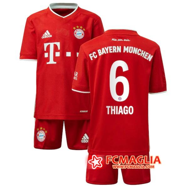 Maglia Calcio Bayern Monaco (THIAGO 6) Bambino Seconda ...