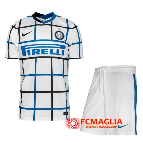 Nuova Maglia Calcio Inter Milan Bambino Seconda 2020/21   Venduto ...