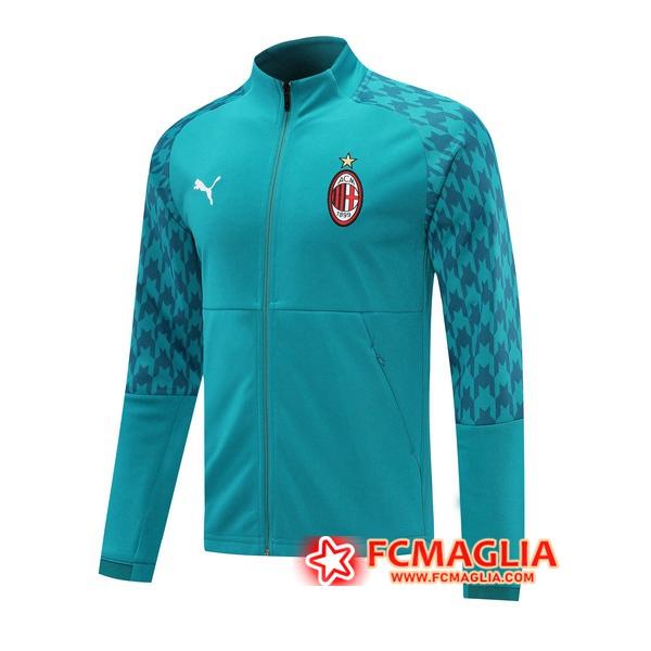 Giacca Calcio Milan AC Blu 2020/21 | Venduto a scontate prezzo