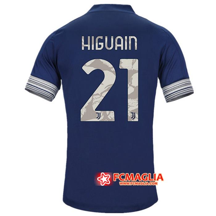 Maglia Juventus HIGUAIN 21 Seconda 2020/2021 Originali